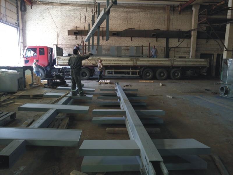Оборудование механизированного склада «живое дно» объемом загрузки 270 м куб.