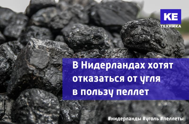 В Нидерландах хотят отказаться от угля в пользу пеллет
